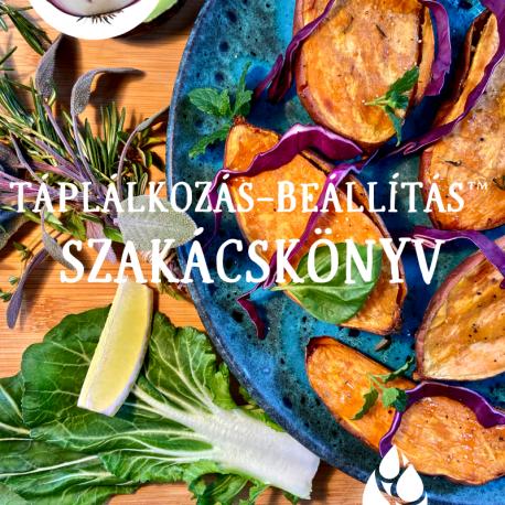 Táplálkozás-beállítás szakácskönyv
